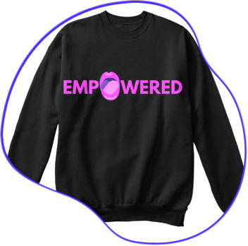 like, so empowered -