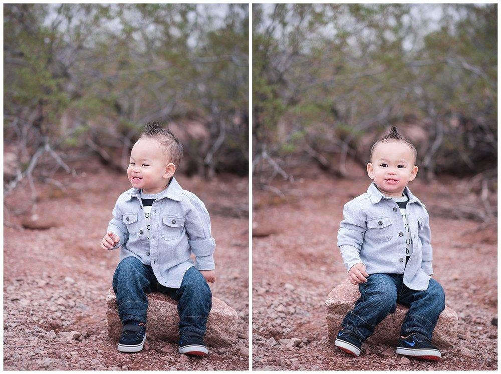 Lincoln, Family Photography, Jade Min Photography, Papago Park, Phoenix Photography, Scottsdale Photography
