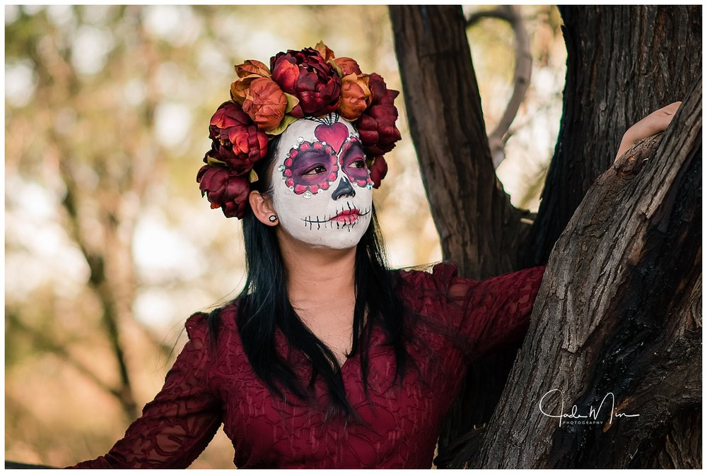 Day of the Dead, Dia de Los Muertos, Gilbert, Arizona, Jade Min Photography