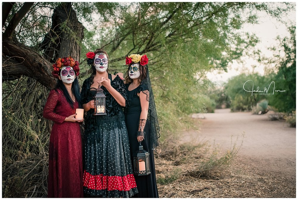 Day of the Dead, Dia de LosMuertos, Gilbert, Arizona, Jade Min Photography