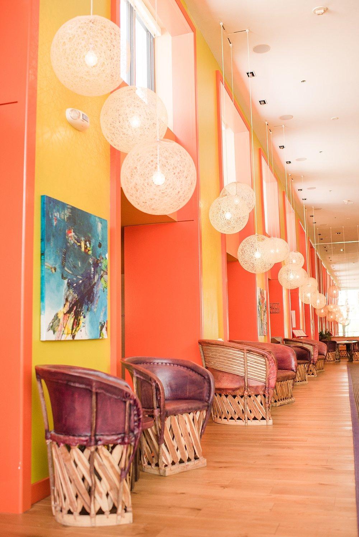 The Saguaro Scottsdale Lobby. Photo by Jade Min Photography.