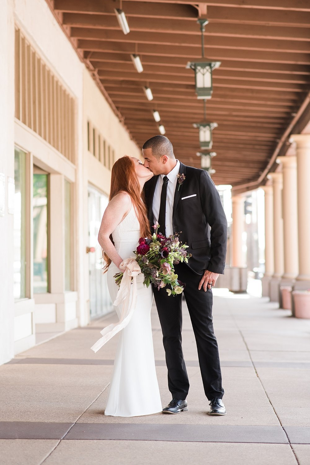 Soho63 wedding shoot in downtown Chandler. Wedding photos taken by Jade Min Photography.