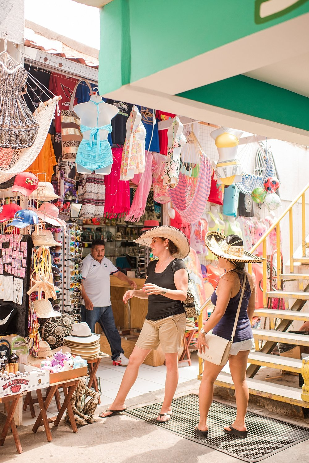 Picture of one of the shopping stalls during our trip to Rocky Point, Mexico in June 2017. Travel photos by Jade Min Photography.