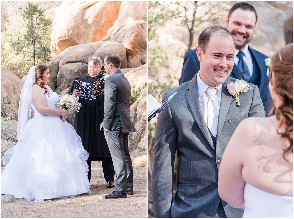 Sarah and Brendan Rhodes Wedding in Prescott, Arizona. Photos by Jade Min Photography, based out of Gilbert, Arizona.