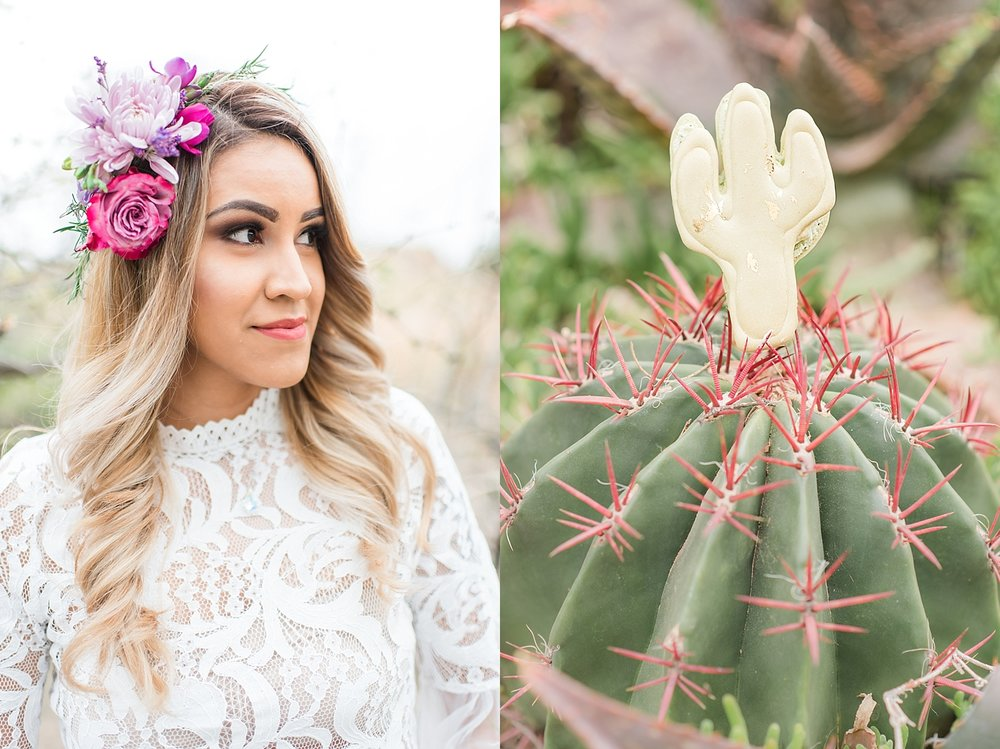 Lavender Inspired Bridal and Maid of Honor Session at Boyce Thompson Arboretum in Superior, Arizona. Photos taken by Wedding Photographer, Jade Min of Jade Min Photography, based out of Gilbert, Arizona.
