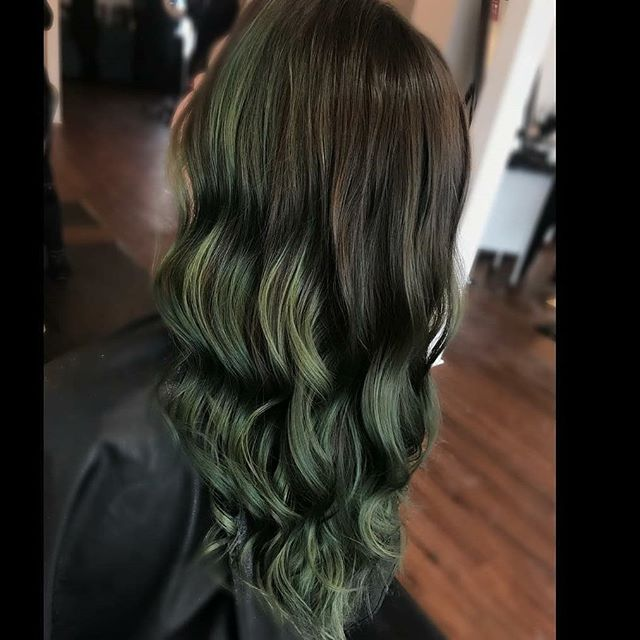 Green Goddess @britani_vance