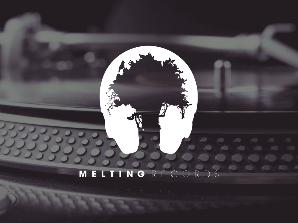 Melting Records Identité + Illustration