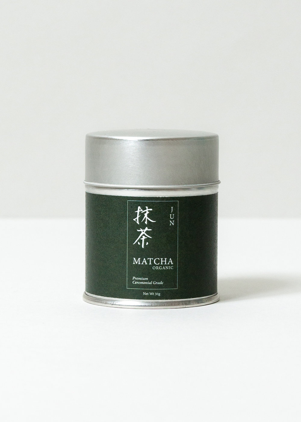 Morihata Organic Matcha Packaging design for a collection of three organic matcha teas