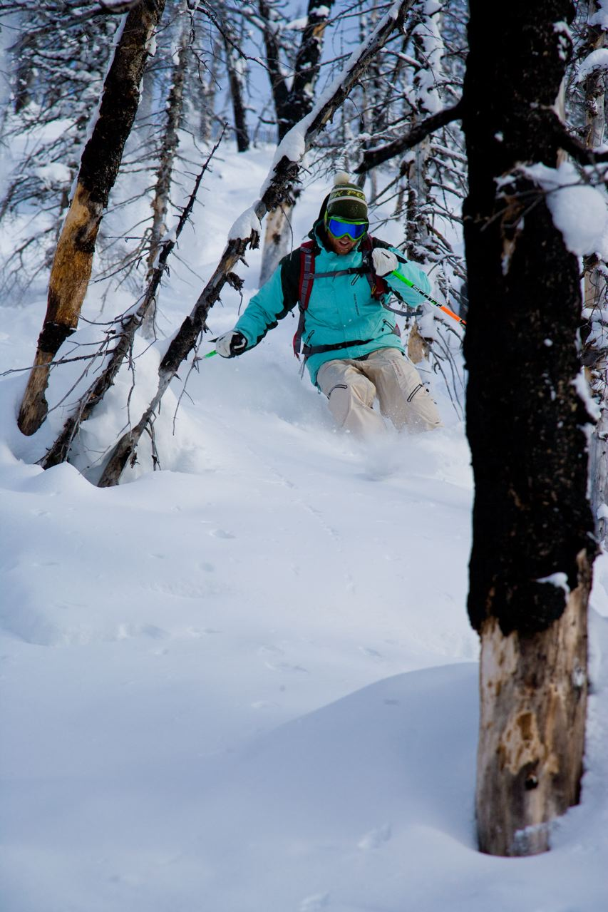 powder skiing, ski guiding, private guiding