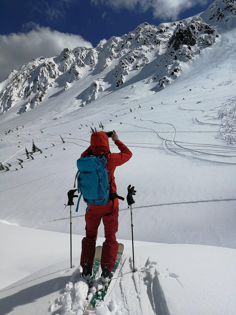 Hoji scoping Trundle Ridge.
