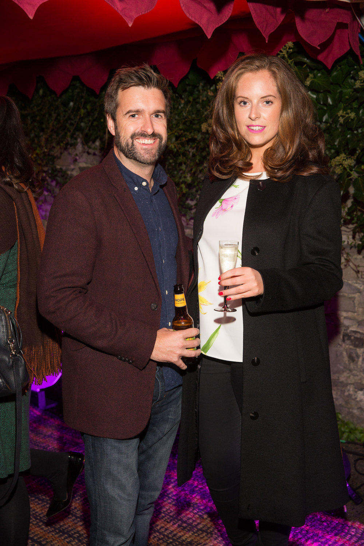 Richard Molloy and Emma O'Farrell