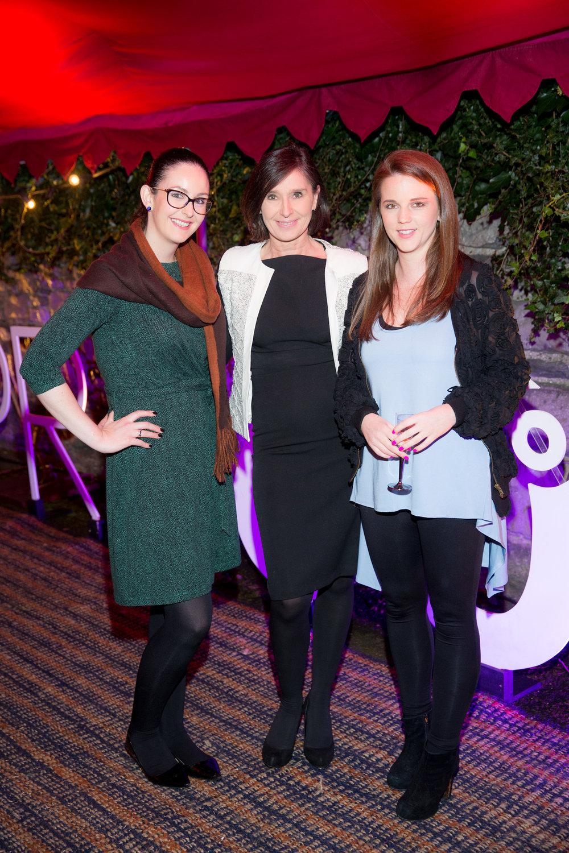 Mari O'Leary, Karleen Smyth and Elena O'Leary