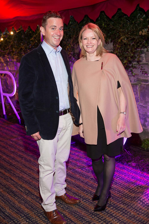 Gavin McGuire and Olivia Buckley