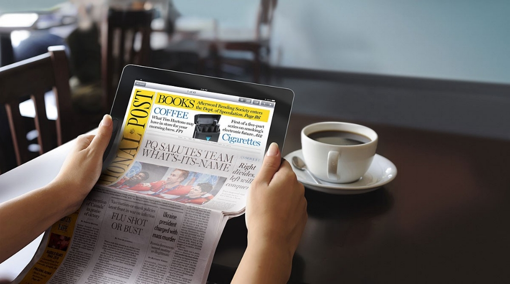 Read, write, capture and record the news, in print and online, whenever you get the opportunity.
