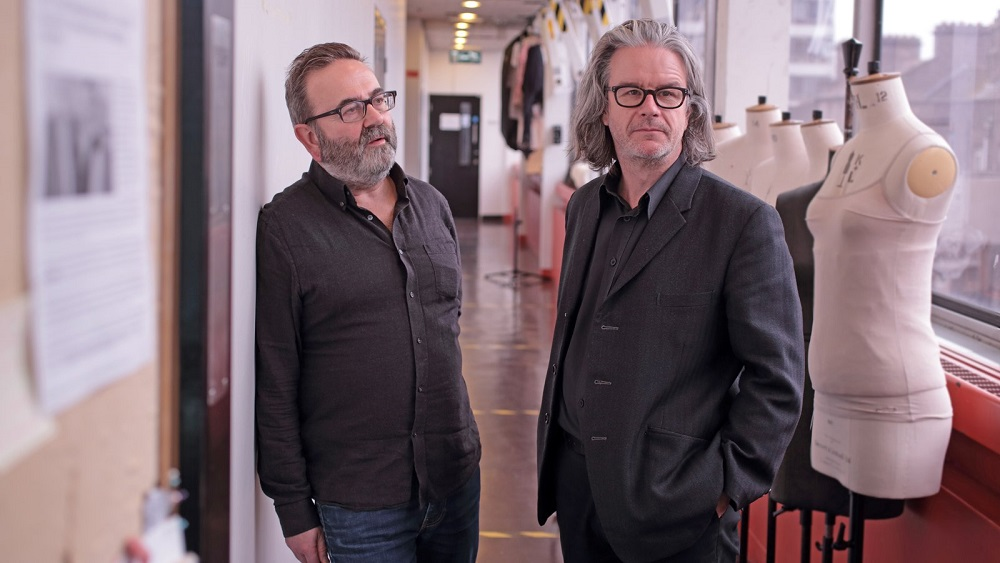 Abbey Theatre directors Neil Murray and Graham McLaren.
