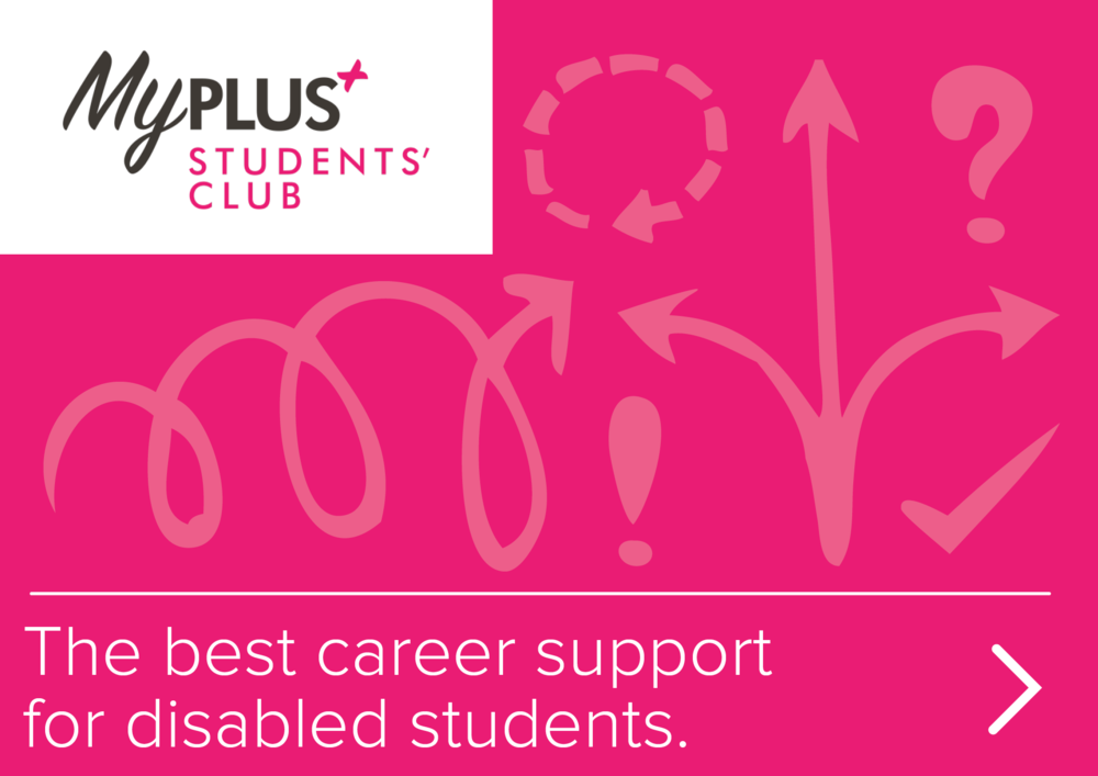 The best career support for disabled students.