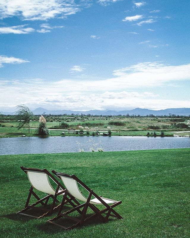 A view dreams are made of from the clubhouse at La Estancia de Cafayate Wine and Golf. | Cafayate, Argentina | #theluxebook