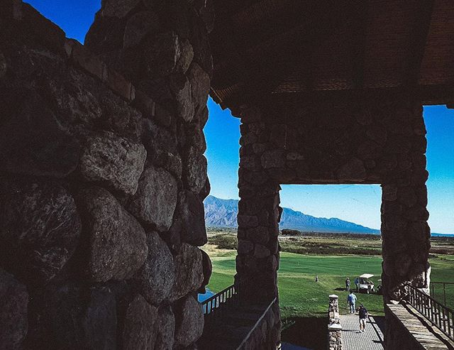 Mountain views and perfect weather from the clubhouse at La Estancia de Cafayate. | Cafayate, Argentina | #theluxebook