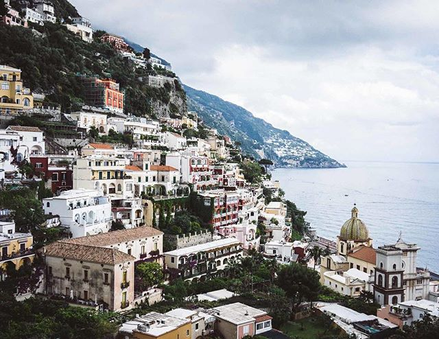 Spectacular views from Positano. | Amalfi Coast, Italy | #theluxebook