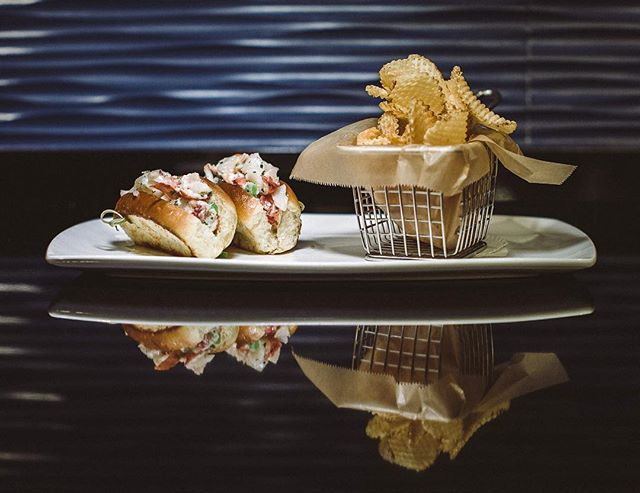 We love the playful take on lobster rolls at Coast, the Ritz-Carlton, Amelia Island's newest dining concept. #theluxebook