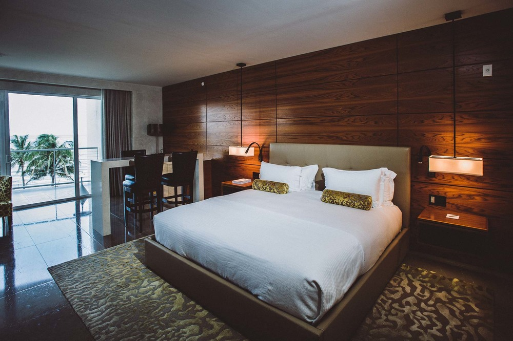 Inside one of the twelve beautifully appointed guest rooms.