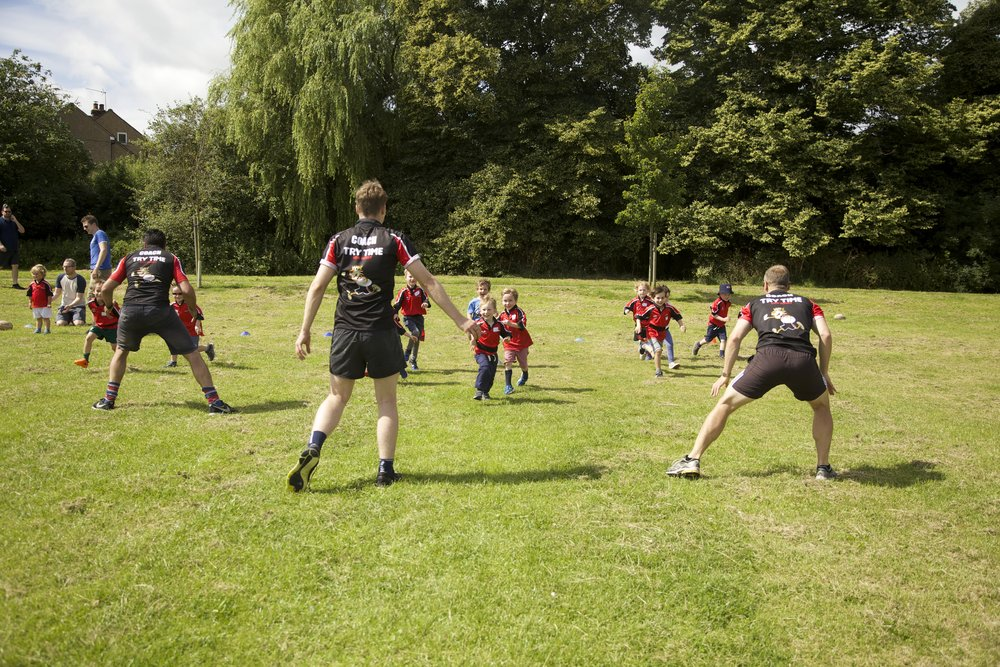 kids rugby for 4 year olds
