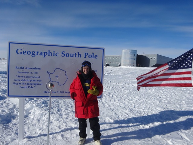 Deborah Loewenberg Ball at the South Pole