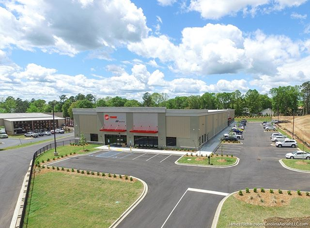 #Drone view: @Trane Facility, #Greenville, SC.  #droneview #aerial #aerialphotography