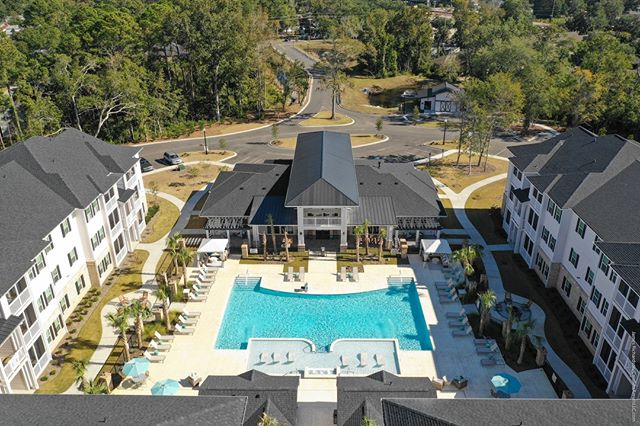 #Droneview: Waterleaf at #MurrellsInlet Apartments, #MurrellsInlet, #SouthCarolina. #drone #aerial #aerialphotography | @waterleafmurrellsinlet