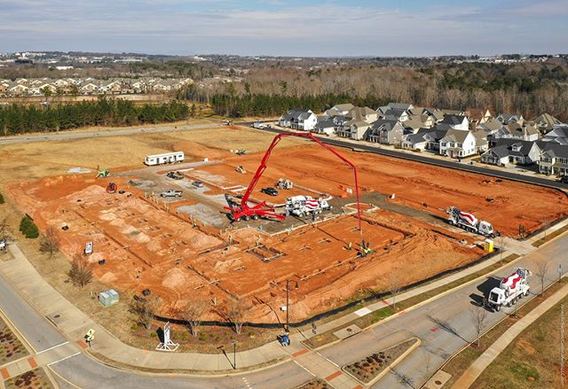 #Droneview: Legacy Square, #Verdae, #HollingsworthPark, #Greenville, SC. . . #drone #aerial #aerialphotography #CRE #underconstruction