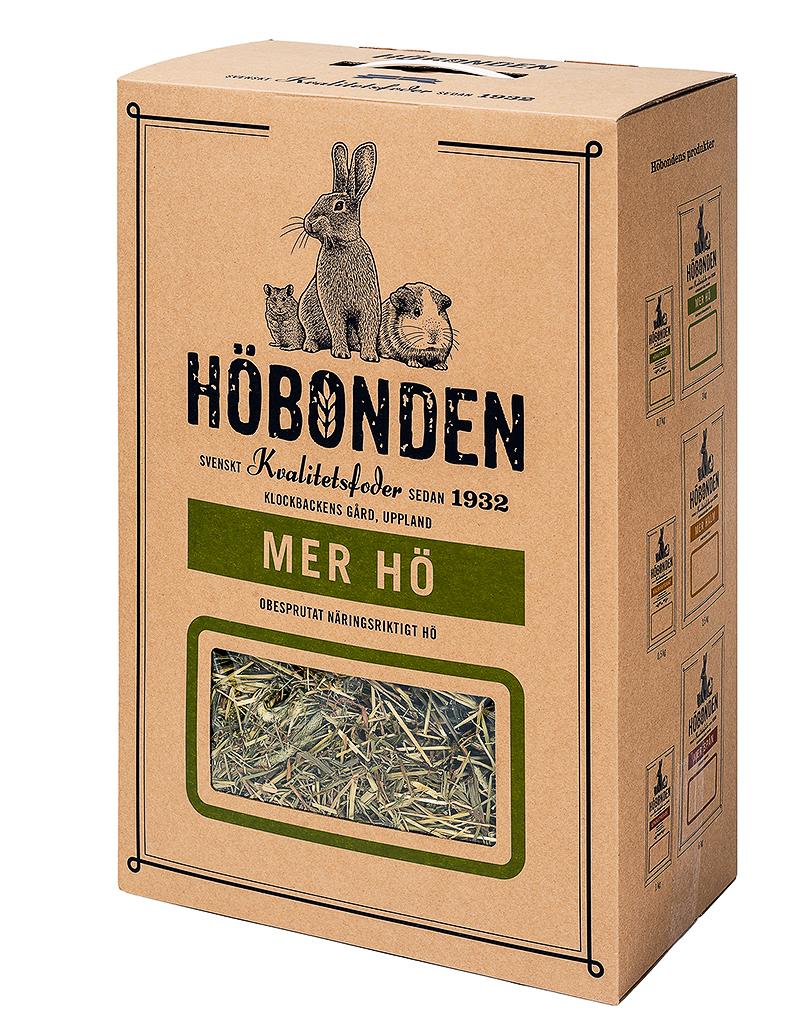 Mer Hö3 kg  (Mått 58x38x22 cm)