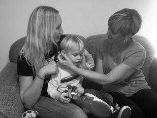 Craniosacral In the comfort of mom's lap