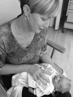 Helping a preemie in the nicu