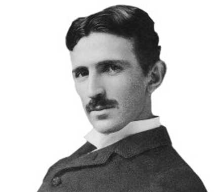 Nikola Tesla (1856-1943), paved the way for modern science, the father of electricity, wireless energy, inventor of Alternating Current (AC) and countless other projects.