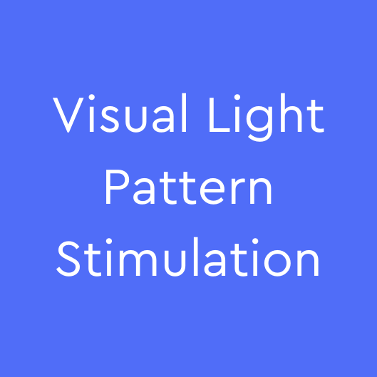 Uses the same customized frequency to synchronize with the binaural beats to create a pattern of light that quickly induces the Theta State, opens the brain to suggestion and entrainment, and promotes specific healing rhythms.