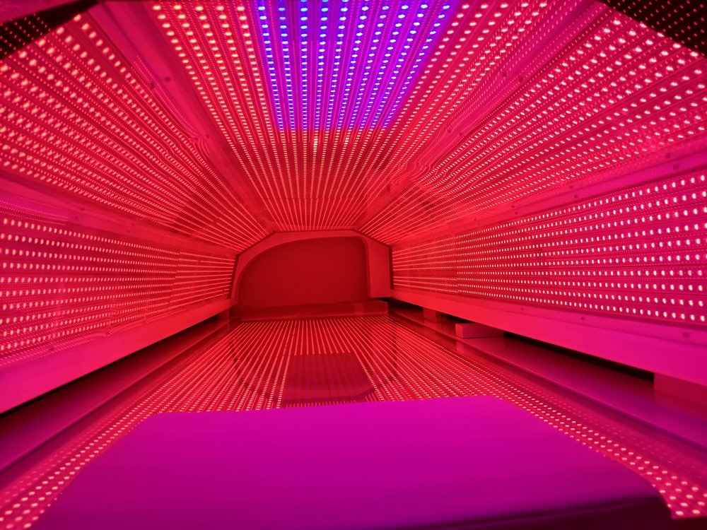 A look inside the LED Light Bed