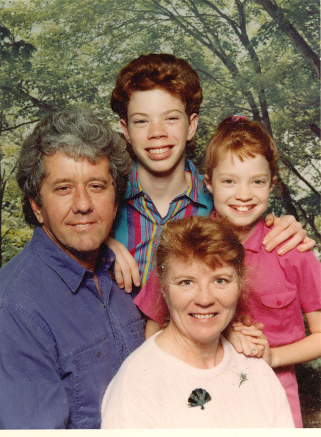 Family photo, 1994. (2 years before my mother was diagnosed with Breast Cancer)