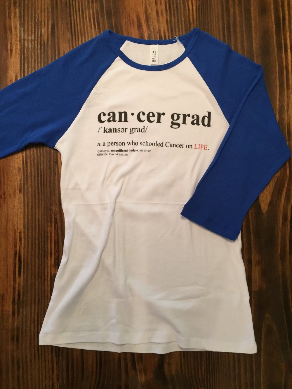 Cancer Grad Definition Baseball T-Shirt