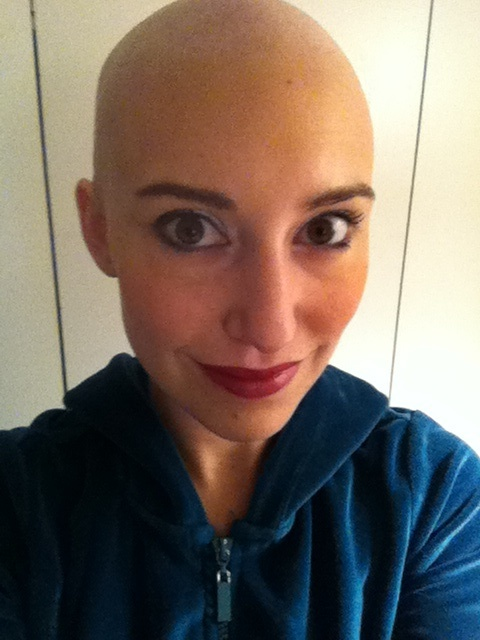 Jenna Twist Out Cancer CancerGrad Cancer Grad Lymphoma
