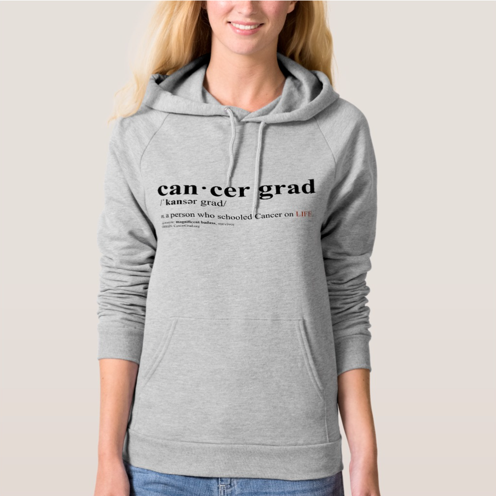 CancerGrad Hoodie Definition Cancer Grad