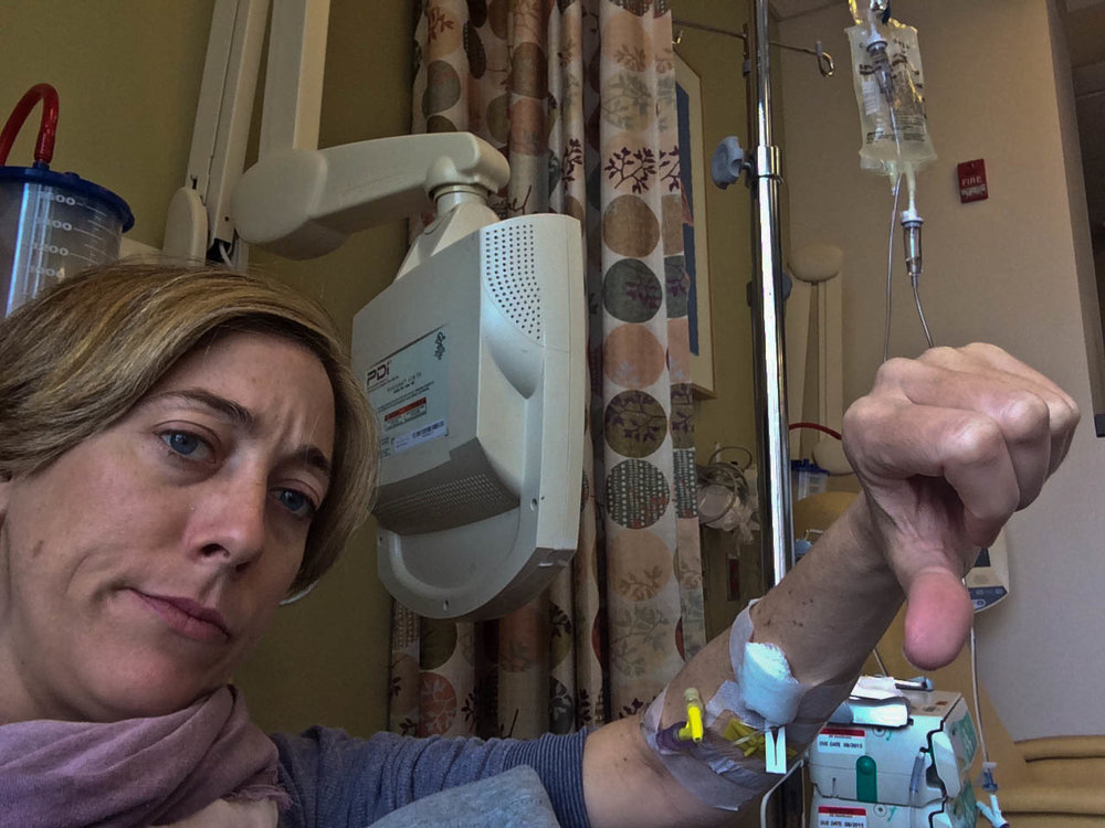 Chemo and feeling like a burden get a thumbs down.