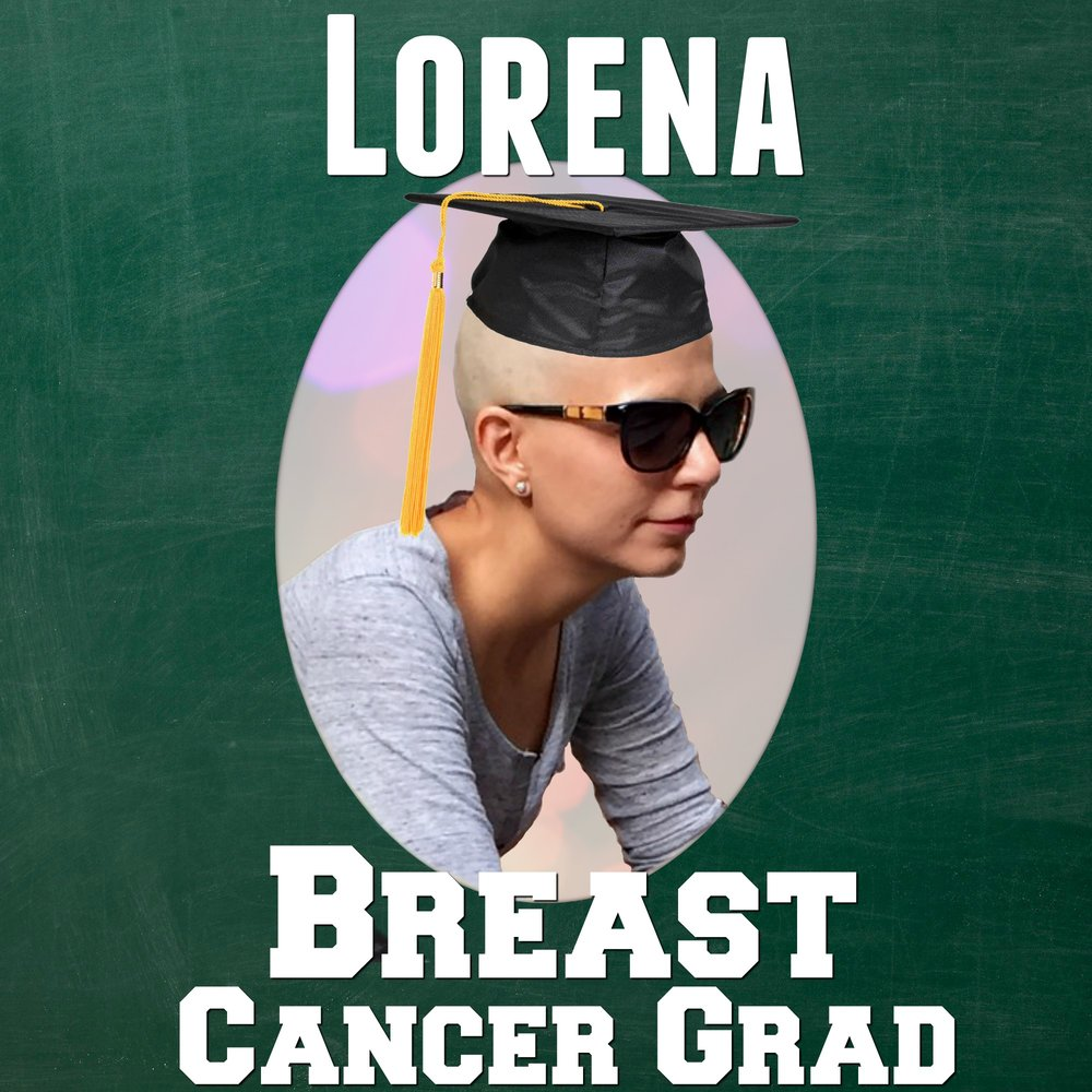 Lorena de la pena breast cancer CancerGrad Yearbook Grad Photo