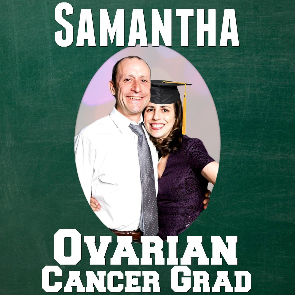 Samantha Lockwood Yearbook Ovarian Cancer Grad
