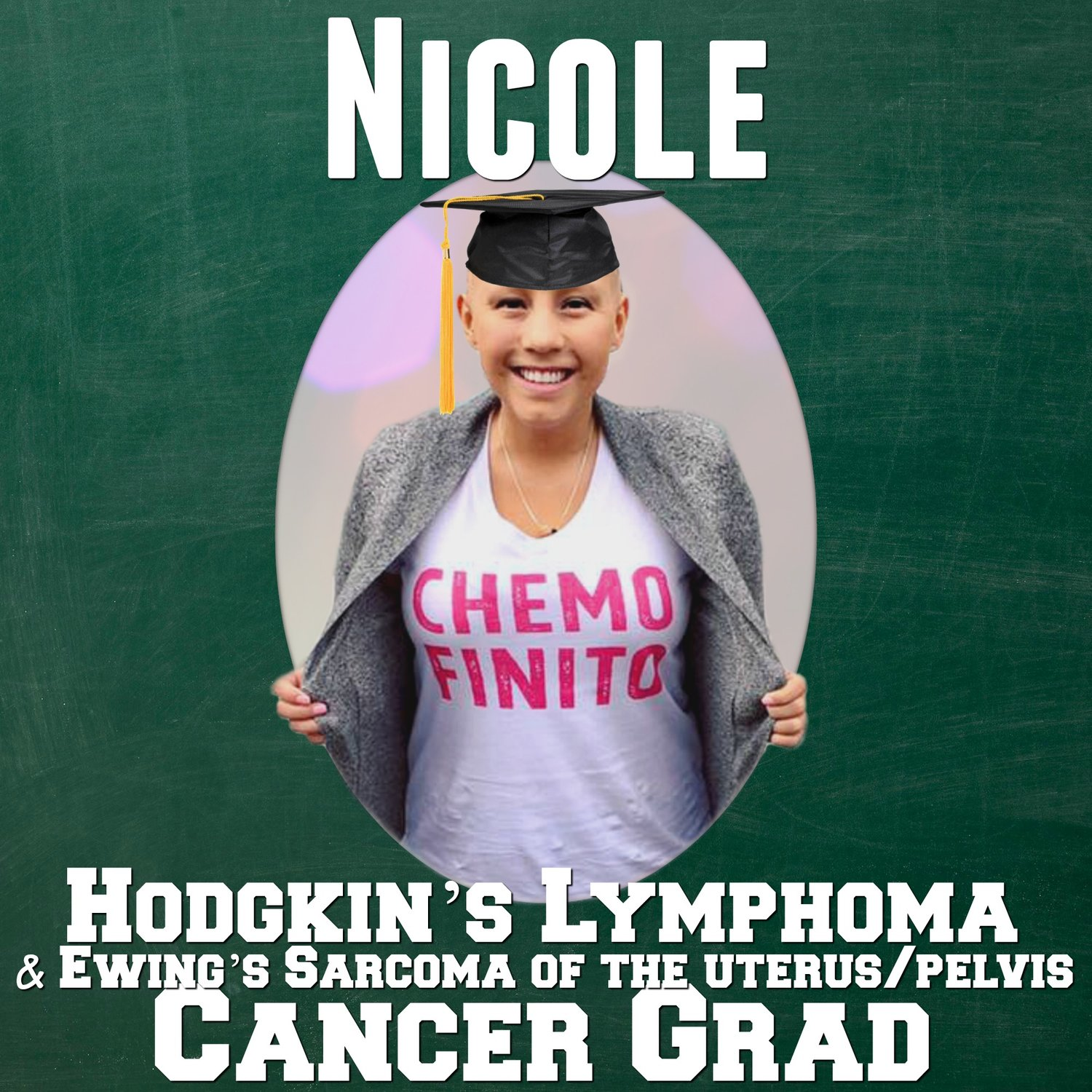 Cancer Gradhodgkins Lymphoma And Ewings Sarcoma Grad Nicole Munoz