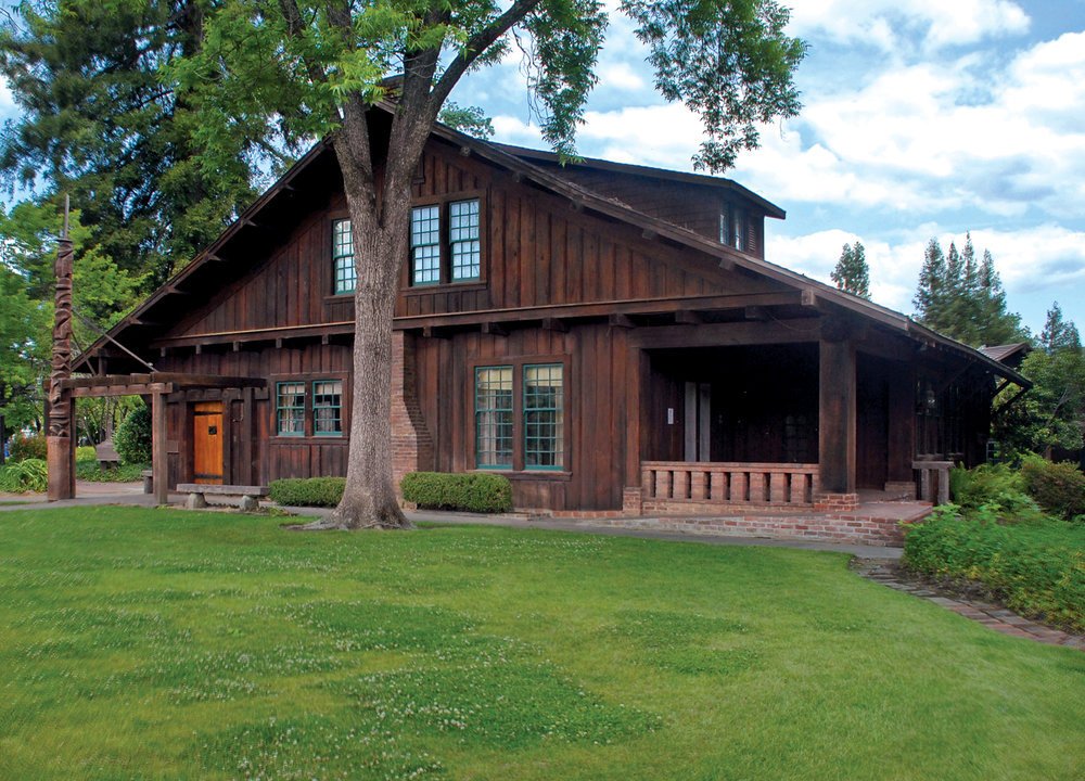 Visit  The Sun House  Craftsman bungalow and artist studio