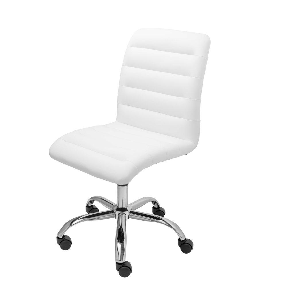 Mid Back Armless Desk Chair