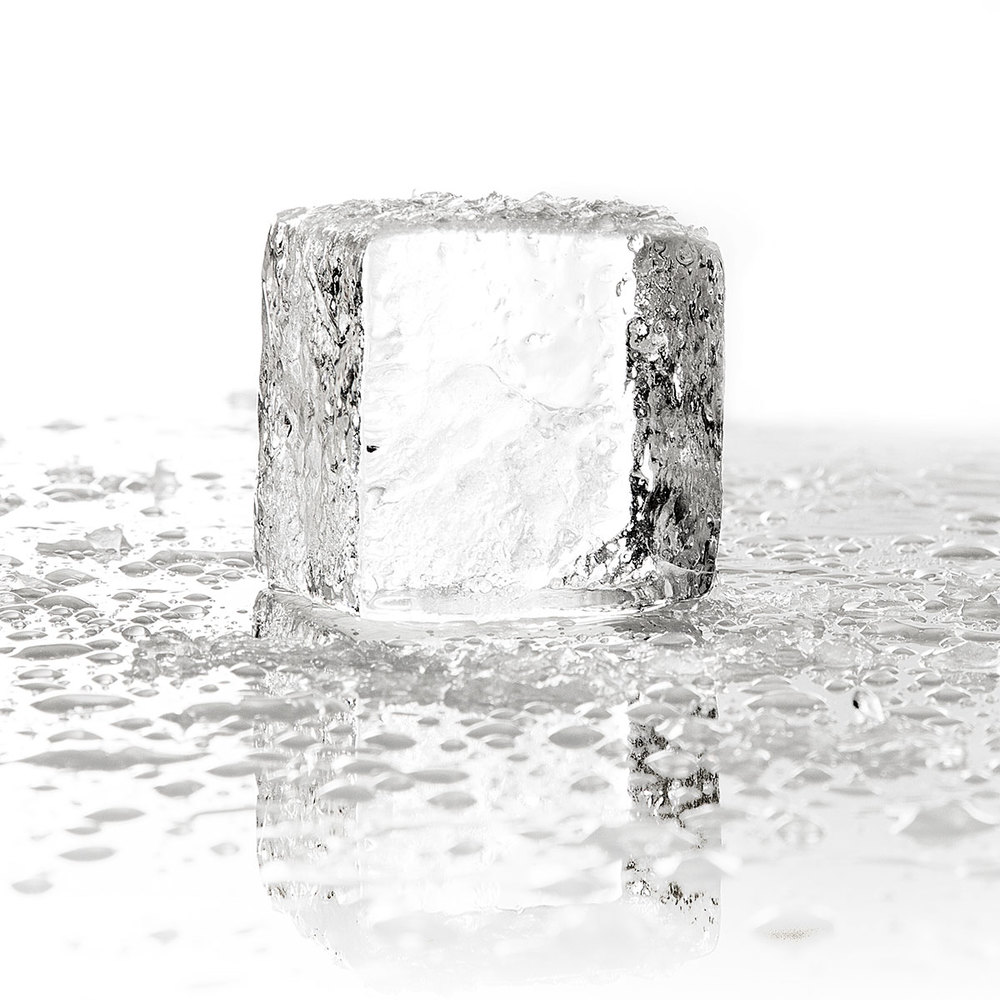 Two-Inch Cubes Our most popular product, these standard-size crystal-clear cubes are designed for serving your beverage of choice on the rock.