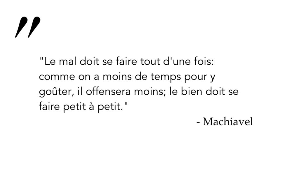 Machiavel 2