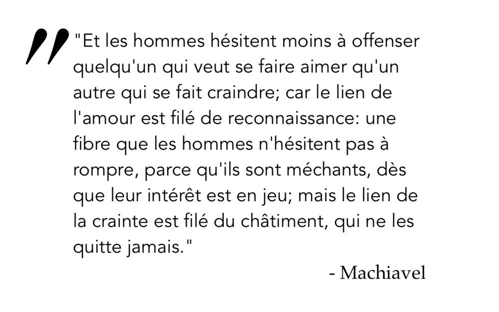 Machiavel 3