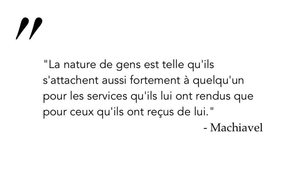 Machiavel 4